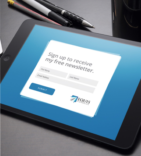 iPad Opt-in Form